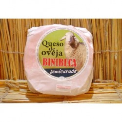 Queso de OVEJA BINIBECA Semicurado Menorca