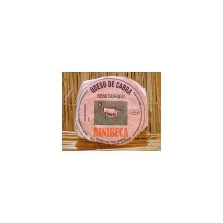 Queso de CABRA BINIBECA Semicurado Menorca