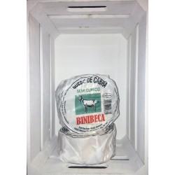 Queso de CABRA  BINIBECA  Semicurado (D.O.Menorca)